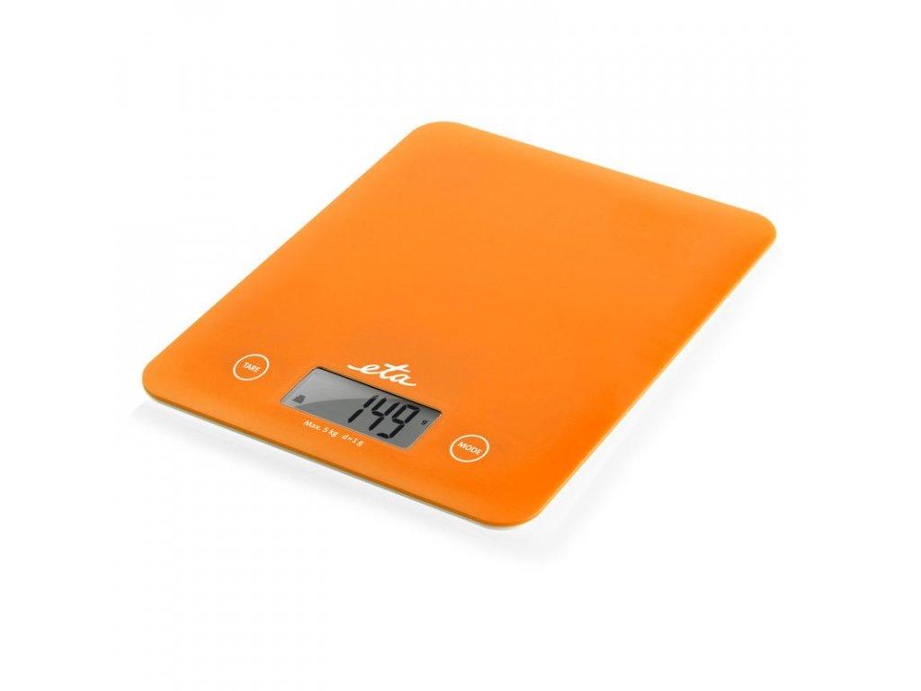 Digitální kuchyňská váha ETA Lori oranžová