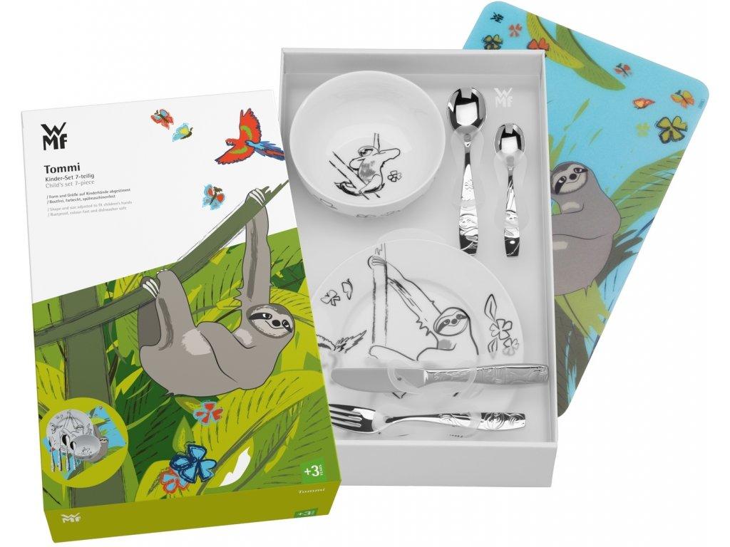 Dětský jídelní set Lenochod WMF 7 ks