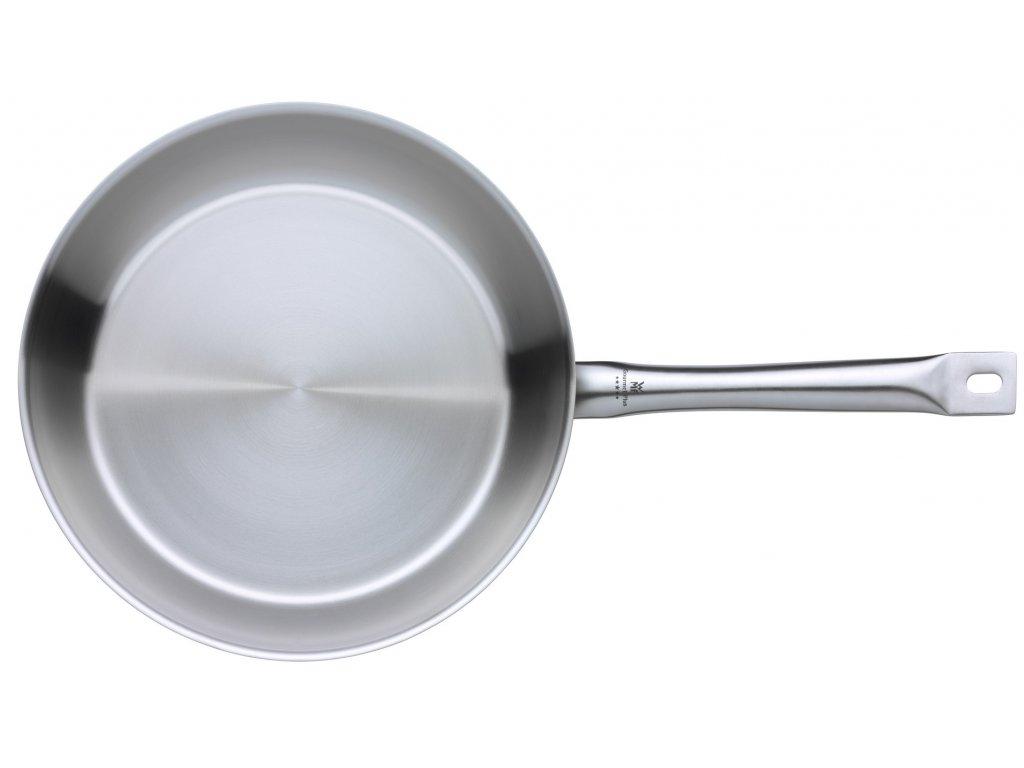 Pánev 28 cm Gourmet Plus matný nerez
