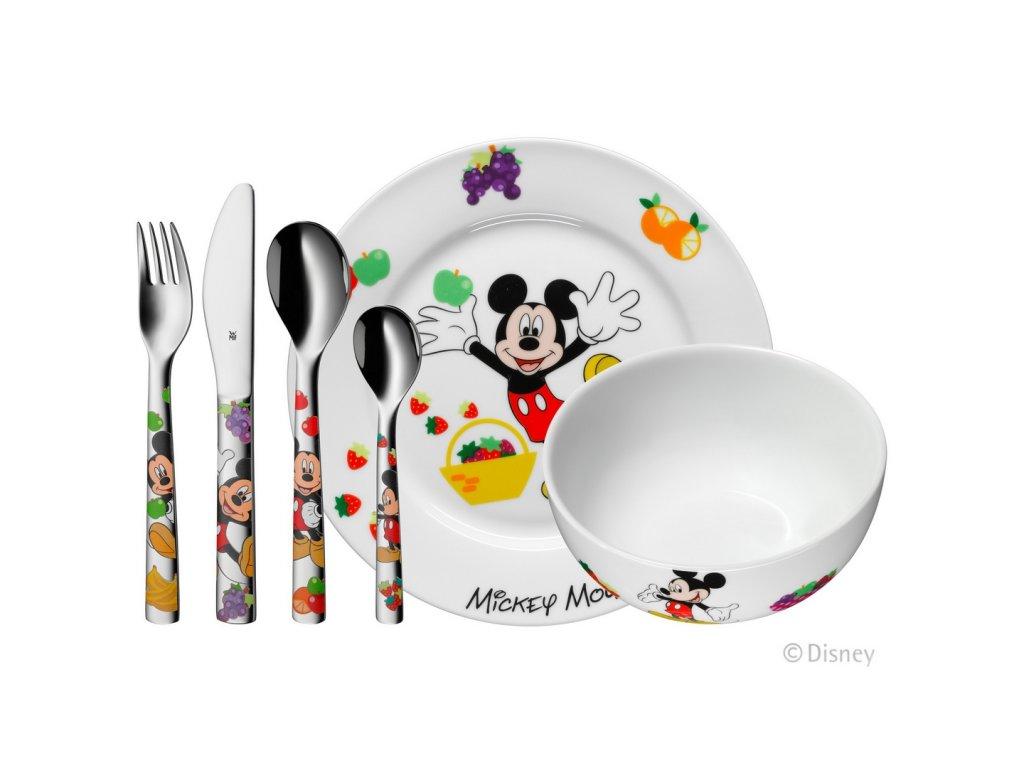 Dětský jídelní set 6dílný Mickey Mouse ©Disney WMF