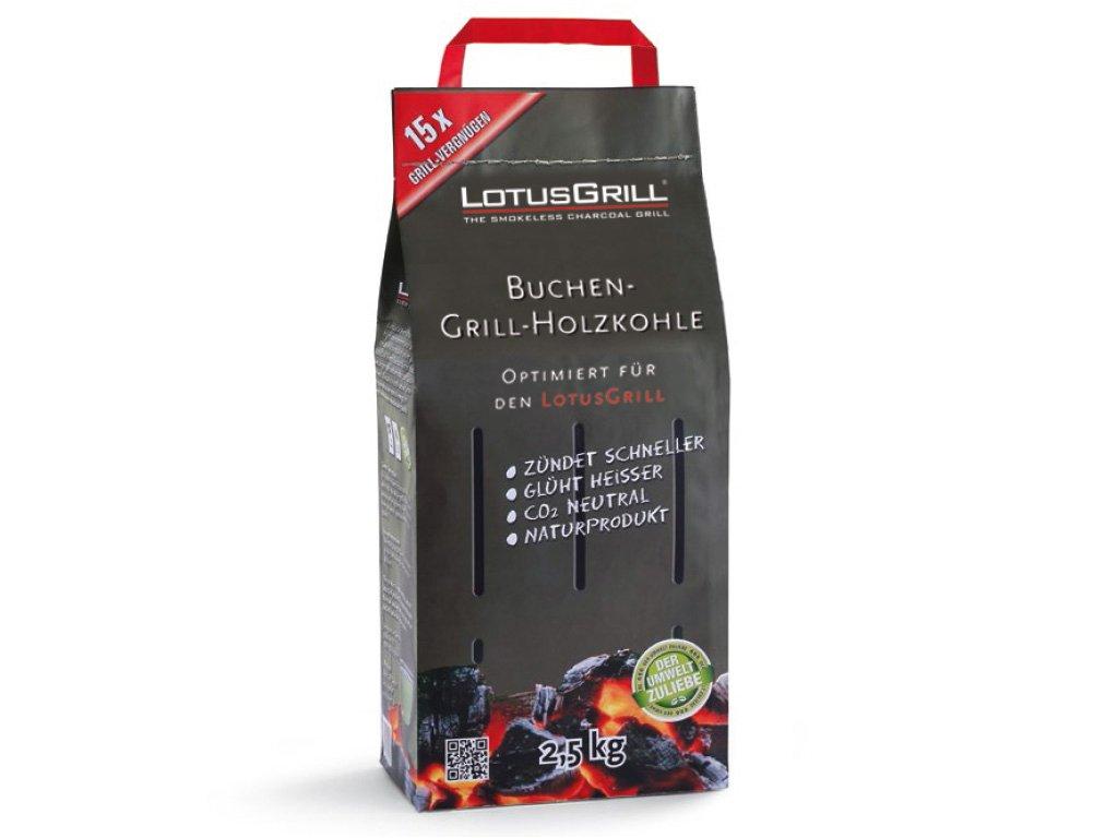 Dřevěné uhlí LotusGrill 2,5 kg