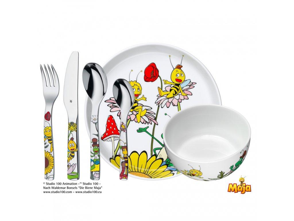 Dětský jídelní set 6dílný Včelka Mája WMF