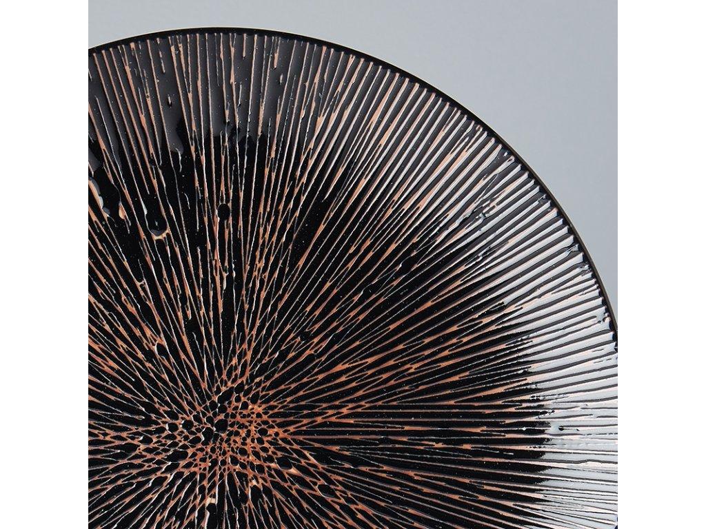 Mělký talíř Bronze Converging 29 cm MIJ