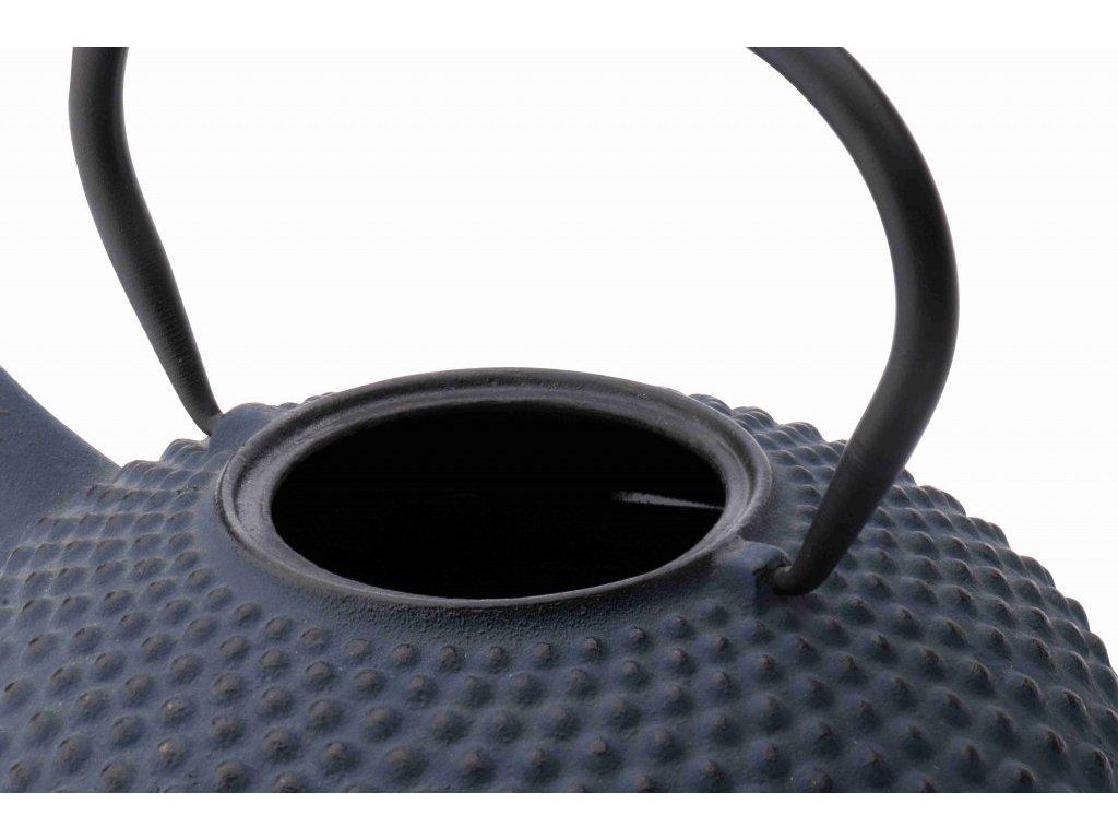 Litinová konvice na čaj Xilin Bredemeijer modrá 1,2 l