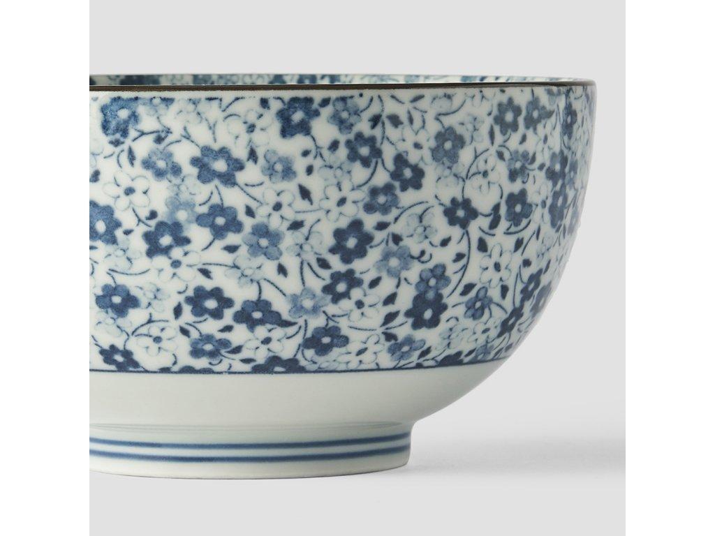 Malá miska Blue Daisy 13,5 cm 500 ml MIJ