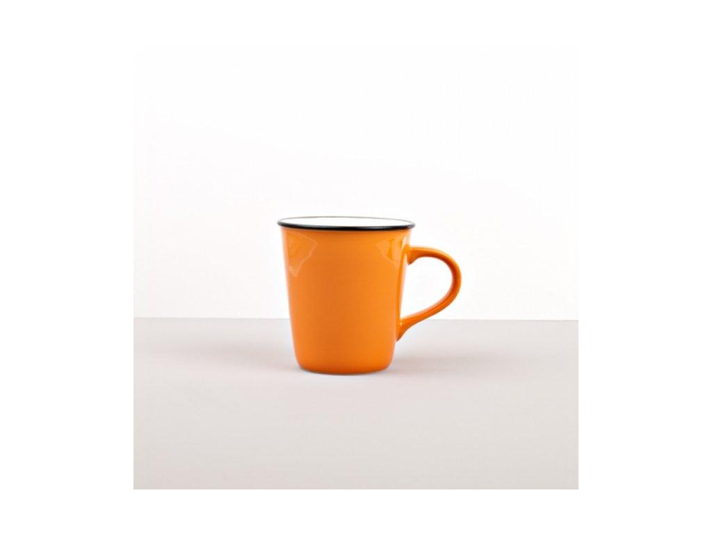 Vysoký hrnek COLOURBLOCK 200 ml oranžový