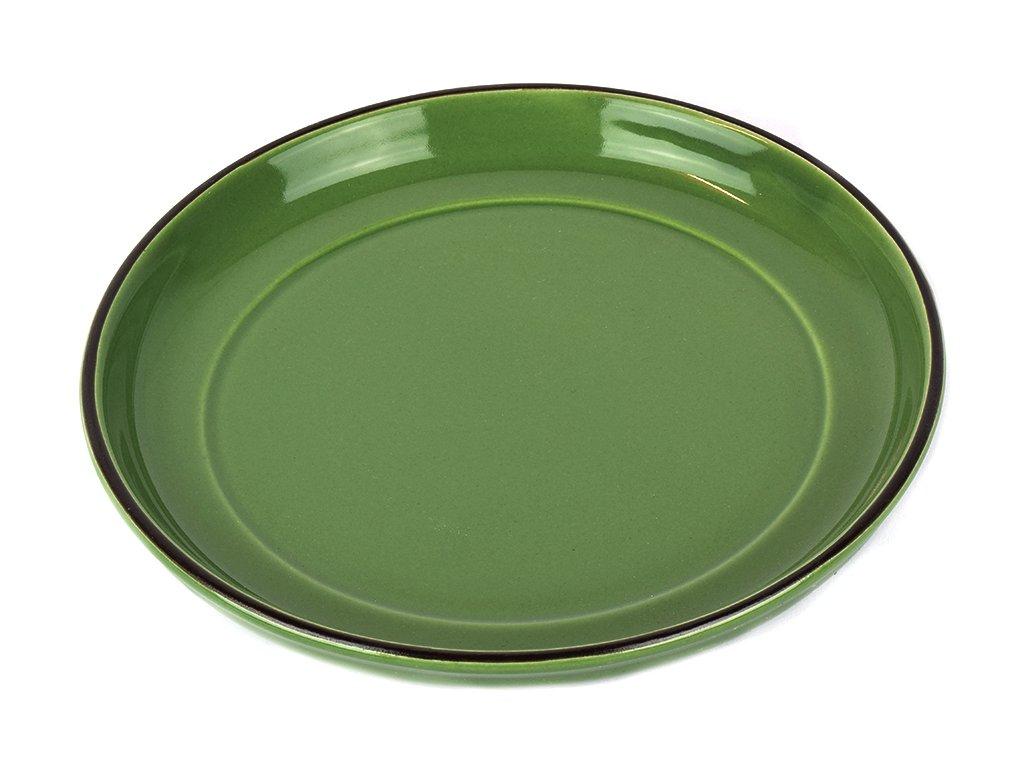 Podšálek COLOURBLOCK - zelený MIJ