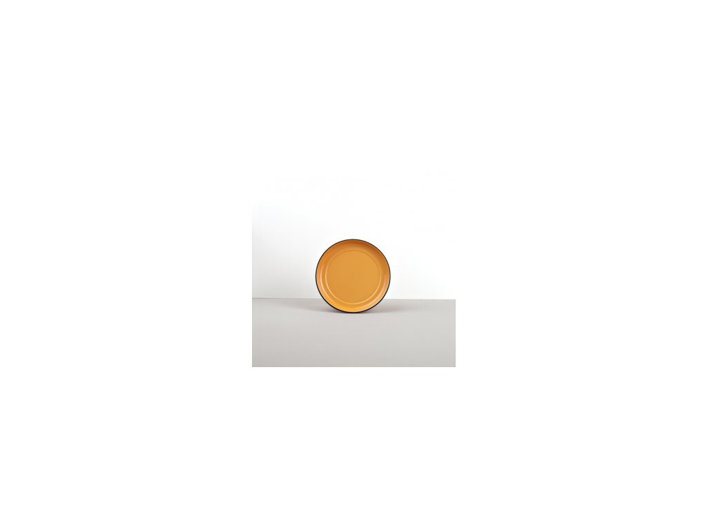 Podšálek COLOURBLOCK oranžový MIJ