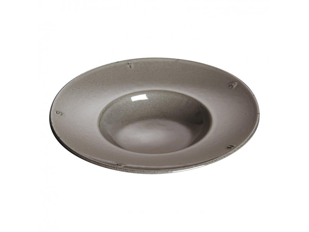 Litinový servírovací talíř hluboký O 21 cm Staub
