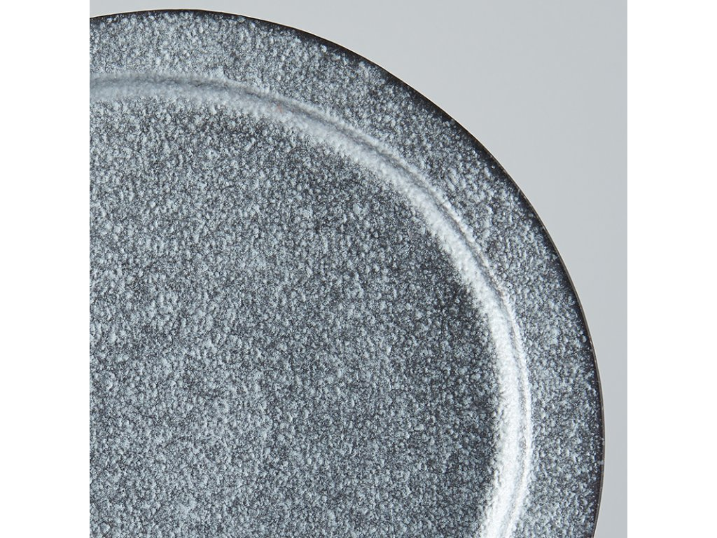Kulatý talíř Craft Black 24,5 cm