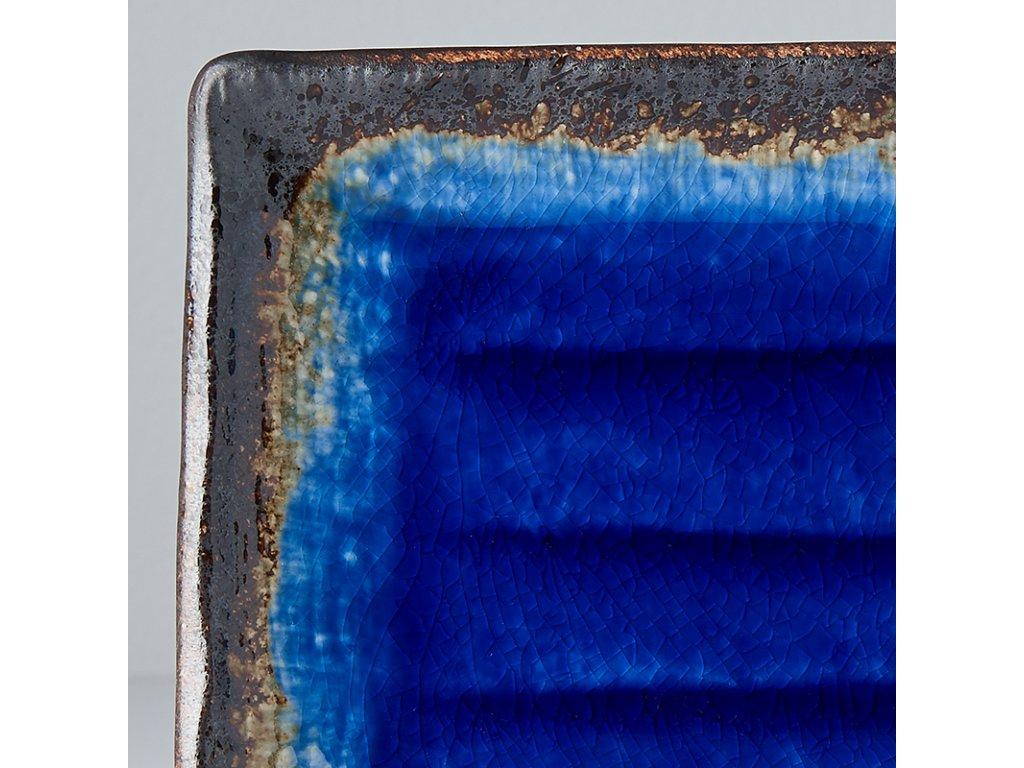 Talíř na sushi Cobalt Blue 21 x 13 cm