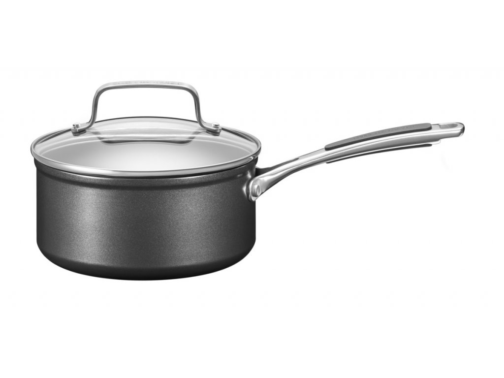 Rendlík s poklicí Hard Anodized KitchenAid 18 cm 1,9 l