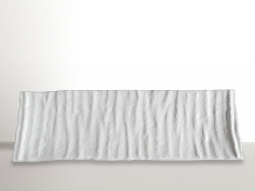 Talíř na sushi Crumpled 33 x 11 cm