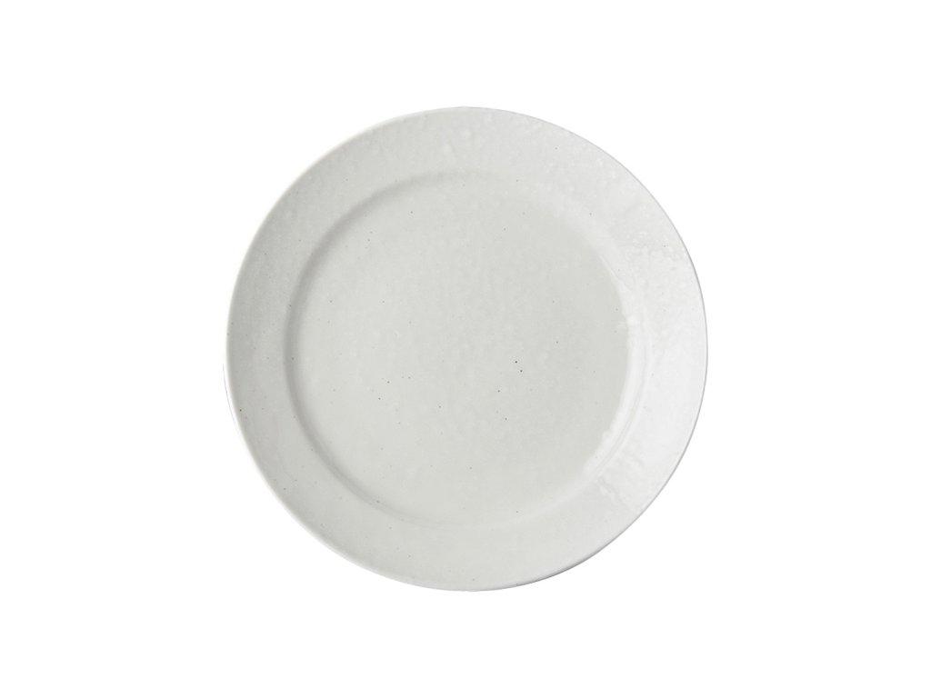 Mělký talíř 23 cm bílý