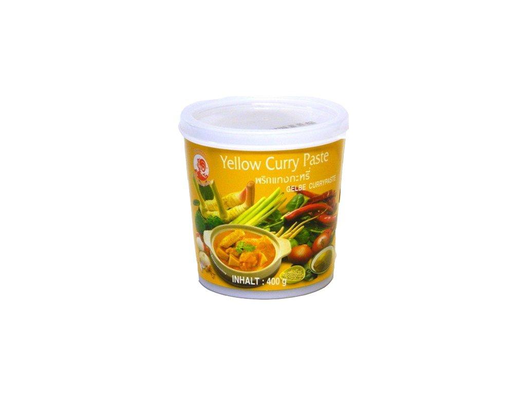 Thajská žlutá kari pasta Cock Brand 400 g