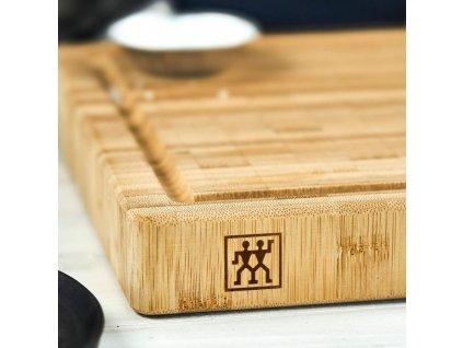 Bambusové prkénko na krájení Zwilling 35 x 25 x 3 cm