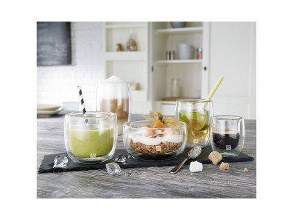 Set skleněných šálků na latte macchiato Sorrento Zwilling 350 ml 2 ks