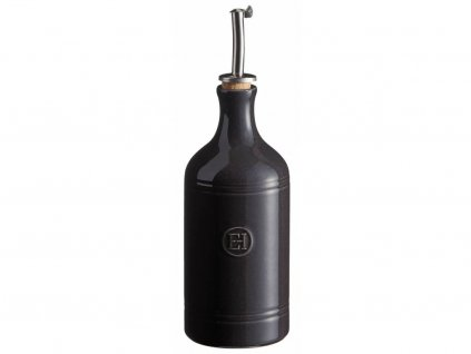 Nádoba na olej a ocet Emile Henry pepřová 450 ml