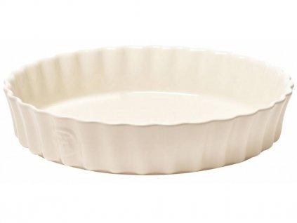 Forma na koláč krémová Clay O 28 cm Emile Henry