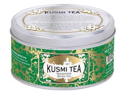 Sypaný zelený čaj s mátou Kusmi Tea 125 g