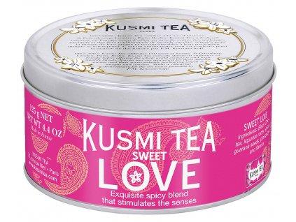 Sypaný černý čaj Sweet Love Kusmi Tea 125 g