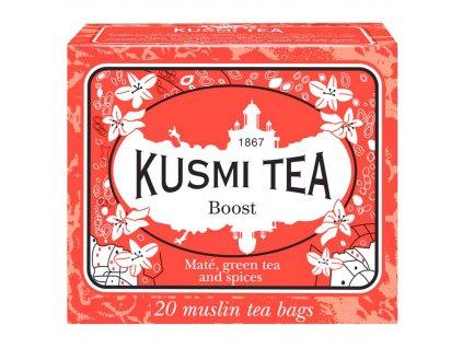 Zelený čaj Boost Kusmi Tea 20 sáčků