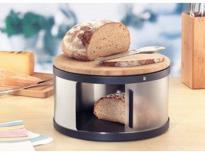 Chlebník s prkénkem na krájení Gourmet WMF 32 cm