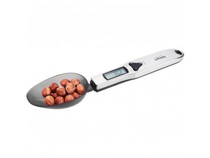 Kuchyňská vážící lžíce LT7034 Lamart černá do 0,5 kg