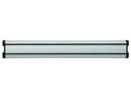 Magnetická lišta na nože stříbrná 30 cm
