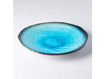 Mělký talíř Sky Blue 27 cm