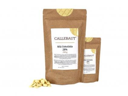 bílá čokoláda callebaut 500