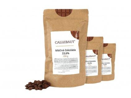 mléčná čokoláda callebaut 750 g