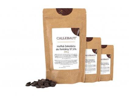 hořká čokoláda do fontány callebaut 750 g