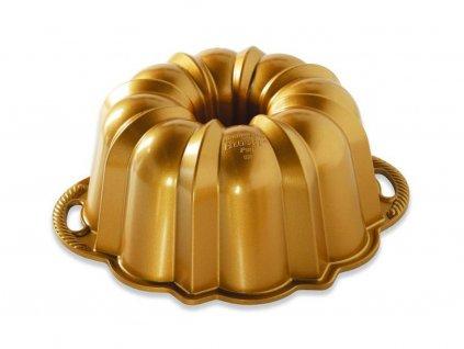 Malá forma na bábovku Anniversary Bundt® zlatá Nordic Ware