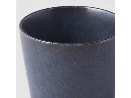 Hrnek bez ucha Ramekin modro-černý 200 ml