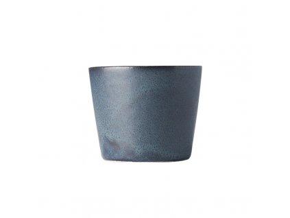 Hrnek bez ucha Ramekin modro-černý 200 ml MIJ