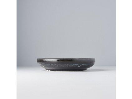 Mělký talíř s vysokým okrajem Matt 22 cm