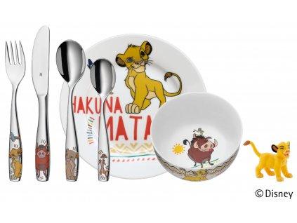 Dětský jídelní set Lví král WMF 6 ks