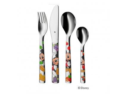 Dětský příbor 4dílný Mickey Mouse ©Disney WMF