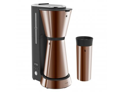 Kávovar na filtrovanou kávu Aroma Thermo to go KITCHENminis WMF měď 1