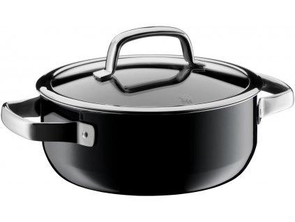 Nízký hrnec FUSIONTEC WMF černá 20 cm 2,4 l