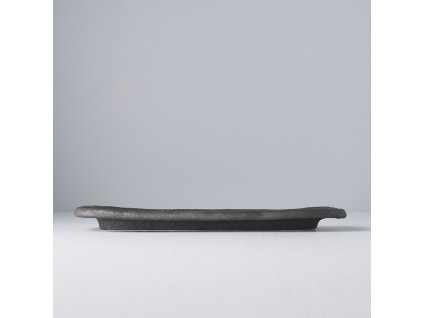 Servírovací deska Stone Slab černá 29 x 12 cm