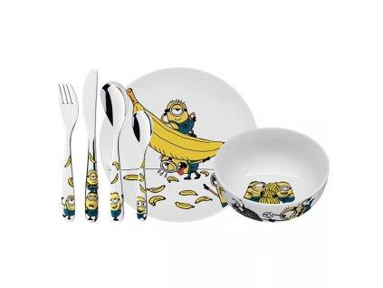 Dětský jídelní set Mimoni WMF 6 ks