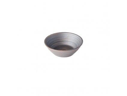 Mísa ve tvaru U metalická 16,5 cm MIJ