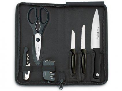 Cestovní sada nožů Silverpoint Wüsthof 6 ks