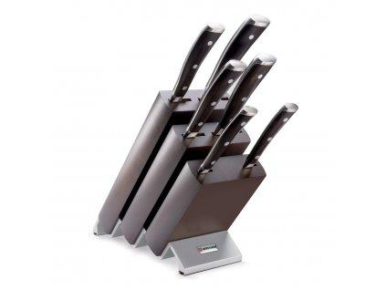 Sada nožů s blokem 7dílná Ikon WÜSTHOF
