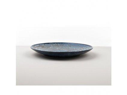 Mělký talíř Copper Swirl 25 cm