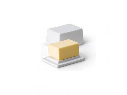 Keramická dóza na 125 g másla Continenta 9,5 x 7 cm