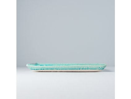 Talíř na sushi a sashimi Turquoise 27 x 20 cm