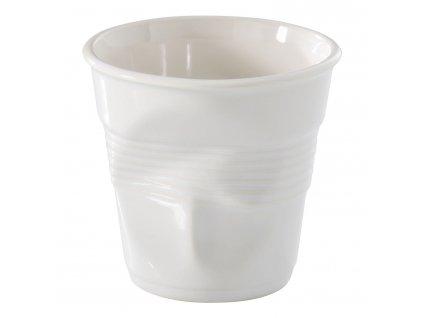 Kelímek na espresso 8 cl bílá Froissés REVOL